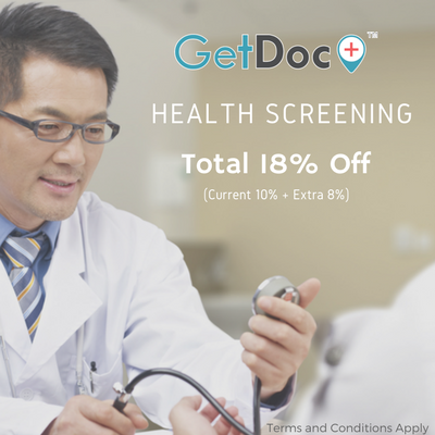 18% Off on Health Screening